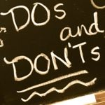 My 8 dos and don'ts to get through the holidays